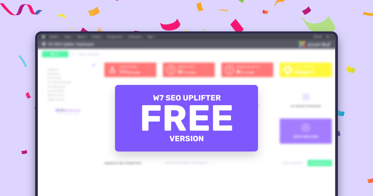 W7 SEO Uplifter Free Version Is Here!